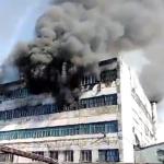 Крупный пожар случился на ЦОФ в Березовском