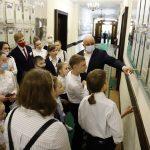 Сергей Цивилев принимал в гостях детей-участников акции #людикузбасса300