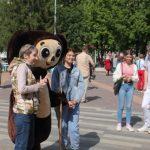 Кемеровчане активно участвуют в праздничных мероприятиях
