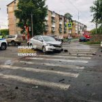 Автоавария с шестью пострадавшими произошла в Кемерове