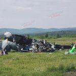 На Танае в Кузбассе упал самолет, есть погибшие и пострадавшие