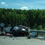 В Чебулинском районе в ДТП с пьяным водителем погибли пенсионер и молодая женщина