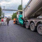 В Кемеровском округе ремонтируют дороги
