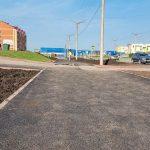 В районе Красного Камня Киселёвска благоустраивают пешеходную зону