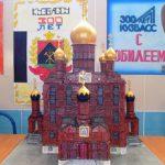 Знаменский кафедральный собор Кузбасса к 300-летию воссоздали. Из спичек