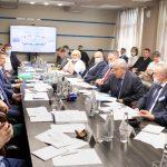 Министр природных ресурсов РФ и руководитель Росприроднадзора провели совещание с руководителями угольных предприятий Кузбасса на разрезе «Берёзовский»