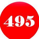 Причины популярности номера в коде 495