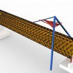 В Кемерове начато строительство стеклянного моста через Искитимку