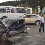 Появились подробности ДТП с четырьмя автомобилями в Кемерове
