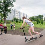 В Кемерове открылись новые скейт-парки