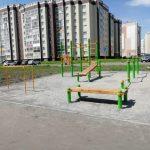 В Кемерове оборудовали две новых спортивных площадки