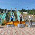 Кузбассовец стал первым среди летающих лыжников на летнем Кубке России