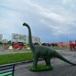 В Киселёвске готовится к открытию детский сад с динозаврами