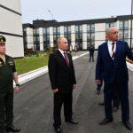 Роспотребнадзор объяснил, почему Владимир Путин был в Кемерове без маски