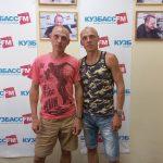 Легкоатлеты Евгений и Анатолий Рыбаковы стали гостями программы на «Кузбасс FM»