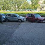 ДТП с участием четырех машин произошло в Новокузнецке