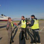 В Кемерове приземлилась знаменитая группа высшего пилотажа «Стрижи»