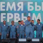 Пилоты группы «Стрижи» поблагодарили кузбассовцев за теплый прием