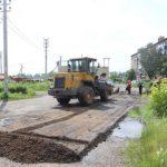 В Мариинске приступили к ремонту дворов