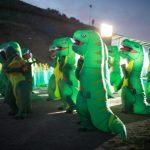 Ночь в мире динозавров