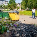 В Юрге местные жители пожаловались на благоустройство контейнерных площадок