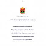 Власти Кузбасса продлили «коронавирусные» ограничения