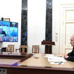 Президент России обсудил дополнительное финансирование программы развития Кузбасса с членами Правительства