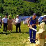В Таштагольском районе прошел первый фестиваль кедра