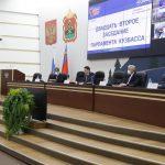 В Кемерове состоялось двадцать второе заседание Парламента Кузбасса