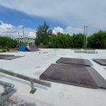 В Тайге готовят к открытию скейт-парк