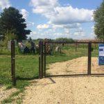 В Яйском округе благоустроили территорию кладбища