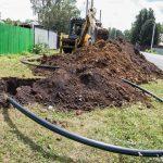 В селе Елыкаево приступили к ремонту водопровода