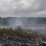 В Кемерове ввели режим повышенной готовности — горит мусорный полигон