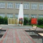 В Яйском округе благоустроили территорию памятника