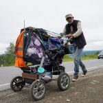 Из Армавира в Иркутск пешком: необычный путешественник скоро придёт в Кузбасс