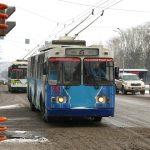 Снегопад в Кемерове нарушил работу пассажирского транспорта