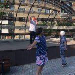 В Тайге открылся обновлённый сквер с домашней атмосферой