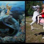 Художник из Кемерова превращает людей в персонажей фэнтези