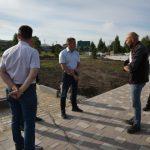 В Бачатском готовится к открытию парк «Юбилейный»