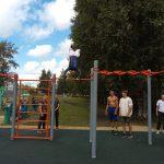 В Анжеро-Судженске открыли воркаут-площадку