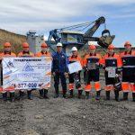 Мировой рекорд установила экскаваторная бригада разреза «Березовский» компании АО «Стройсервис»