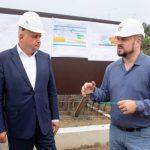 Сергей Цивилёв проверил ход строительства культурного кластера в Кемерове