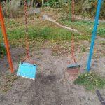 В Анжеро-Судженске разломились качели. Пострадал ребёнок