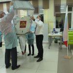 Работники разреза «Кедровский» голосуют по отдельному графику