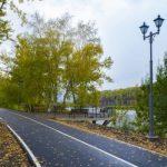 В Междуреченске отремонтировали набережную реки Уса