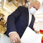 Сергей Цивилёв проголосовал на выборах