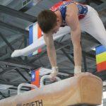 В Ленинске-Кузнецком проходит открытое первенство и чемпионат области по спортивной гимнастике