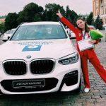 Гимнастка из Кузбасса получила в подарок BMW за серебро на Олимпиаде в Токио