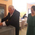 В Кузбассе супруги отметили золотой юбилей прямо на избирательном участке