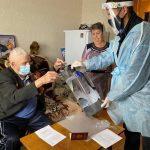101-летний житель Мариинска проголосовал в выборах